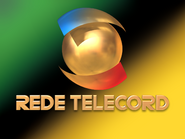 Rede Telecord ID - Green and Yellow
