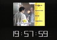 SRT clock - Mundial Confiança (1999)
