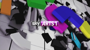 Sky Arts 1 ID - Broadcasting for Arts - 2012
