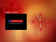 ECN 1997 Clock - National Bank