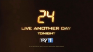 Sky 1 break bumper - 24 - Live Another Day