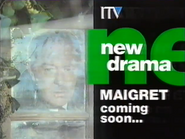 ITV promo - Maigret - 1992