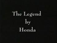 CH5 sponsor billboard - Honda Legend - 1997