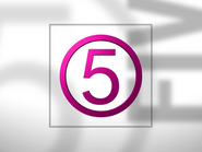Channel 5 ID - Pink - 1994