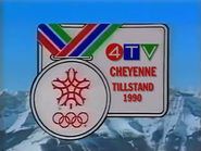4TV Winter Olympics ID 1990 2
