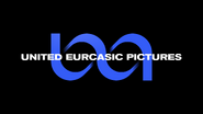 United Eusqainic Pictures logo - Blue - 1970