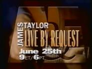A&E - James Taylor Live By Request promo 1997