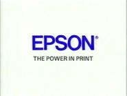 CH5 sponsor billboard - Epson - 1996