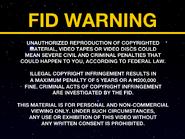 Orbit FID screen - Laser Disc - 1985
