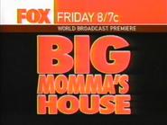 Fox promo - Big Momma's House - 2003