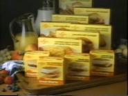 Swanson Great Starts Frozen Breakfast Sandwiches TVC - March 1987 - 2