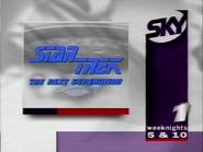 Sky 1 promo - Star Trek TNG - 1996