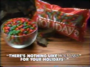 Holidays candies TVC 1987