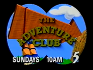 CH5 promo - The Adventure Club - 1997 - 2