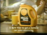 Minute Maid TVC - 1-29-1989