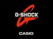 Casio G Shock CH5 sponsor billboard 1997
