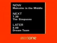 Sky One lineup 2002