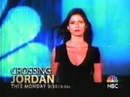 NBC promo - Crossing Jordan - 2002
