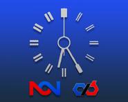 NCN 1985 network clock (CXB)
