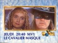 MV1 promo - La Cavalier Masque - Noel 1990