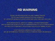 UEHV FID screen - 1981