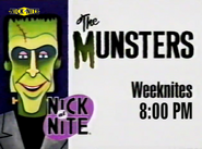 Nick at Nite Anglosaw - The Munsters promo 1995