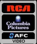 RCA Columbia AFC Video 1988 print logo