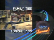 Sky Channel promo - Family Ties - 1989