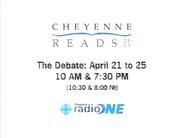 Cheyenne Radio One promo - Cheyenne Reads 2003 - 2003