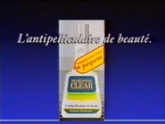 Shampooing Clear TVC 1989