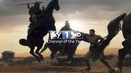 Sky 1 ID - Spartacus Vengeance - 2012 - 2