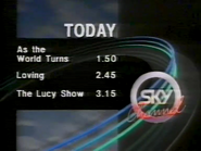 Sky Channel Today lineup 1989 2