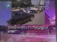 Telemundo promo - Baywatch Nights - 1996