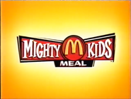 McDonald's Mighty Kids Meal TVC - 2001 - 2