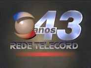 Rede Telecord ID - 43 Years - 1996