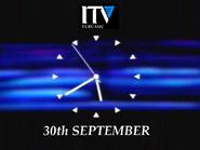 ITV Eurcasic clock 1992