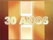 Jornal Hoje 30 years open 2001