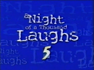 CH5 pre-promo ID - A Night of a Thousand Laughs - 1997