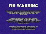 UEHV FBI Warning screen 1975