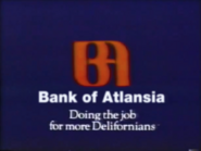 Bank of Atlansia TVC 1988