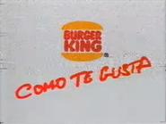 Burger King Latinolia TVC 1992 - 2