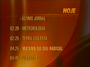 SRT Hoje schedule lineup bumper - September 15, 1998