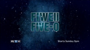 Sky 1 promo - Fiweii Five 0 - 2011