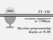 Tv-am 1968 closedown slide