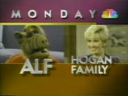 NBC promo - ALF and Hogan Family - 1-29-1989