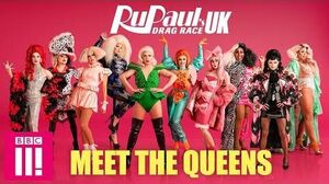 RuPaul's Drag Race UK Meet The Queens