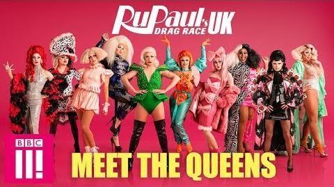 RuPaul's Drag Race UK Meet The Queens