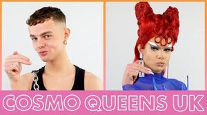 Watch Gothy Kendoll become an icy goddess Cosmo Queens UK