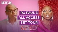 RuPaul's All Access Behind the Scenes Tour AJ and the Queen Netflix