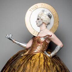 Queen Elizabeth Realness Look